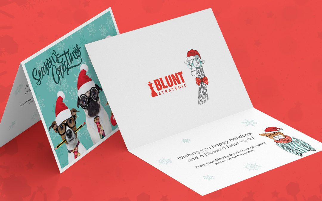 Christmas cards – a sweet personal touch