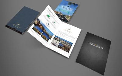 Don't forsake the print product. Brochures still count as good marketing!