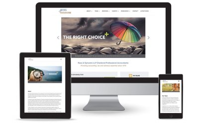 New site for professional accounting firm