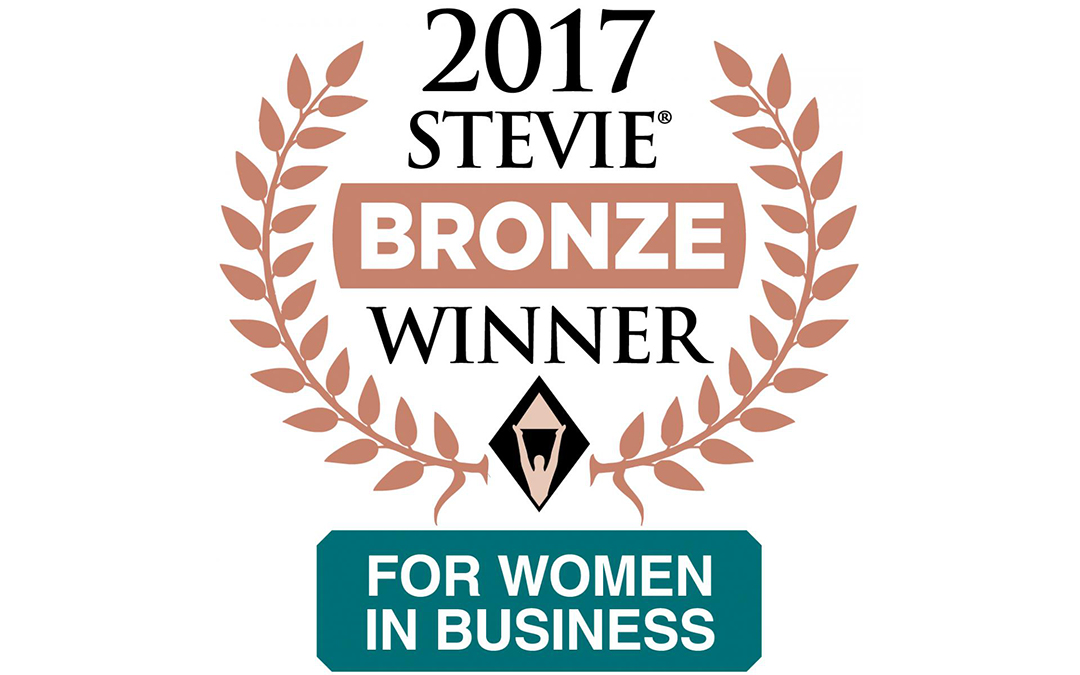 BLUNT STRATEGIC WINS BRONZE STEVIE® AWARD IN 2017 STEVIE AWARDS FOR WOMEN IN BUSINESS