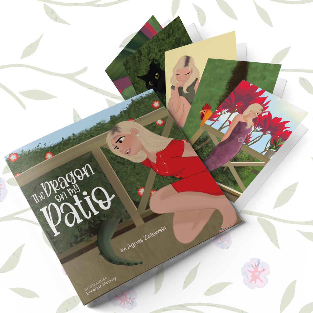 The Dragon on my Patio Book & Greeting Cards